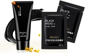 Pilaten Black Mask czarna maska do twarzy