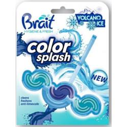 Brait Color Splash Volcano Ice Kostka toaletowa 2-fazowa do WC 45g