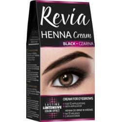 Revia Henna Cream Henna Do Brwi W Kremie 01 Black