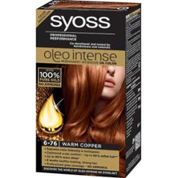 Syoss Oleo Intense Professional Performance Farba Do Włosów 6-76 Złocista Miedź 115ml