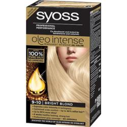 Syoss Oleo Intense Professional Performance Farba Do Włosów 9-10 Jasny Blond 115ml