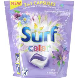 Surf Color Iris & Spring Rose 2in1 Kapsułki do prania 14szt
