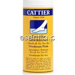 Cattier  Dezodorant w pudrze do stóp 65 g