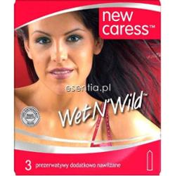 New Caress  Prezerwatywy Wet N'Wild op. / 3 szt.