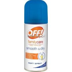 OFF!  Family Care Smoth&Dry spray odstraszający komary 100 ml