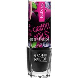 IsaDora  Lakier do paznokci Graffiti Nail Top 6 ml