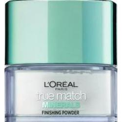 Loreal True Match Minerals Finishing Powder Translucent sypki puder matujący