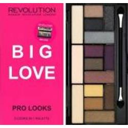 Makeup Revolution Big Love Pro Looks Palette paleta 15 cieni do powiek