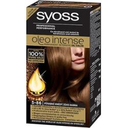 Syoss Oleo Intense Professional Performance Farba Do Włosów 5-86 Słodki Brąz 115ml