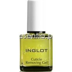 Inglot  Żel do usuwania skórek Cuticle Removing Gel 15 ml