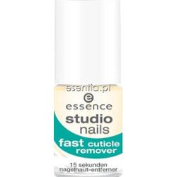 Essence  Studio Nails Żel do usuwania skórek Fast Cuticle Remover